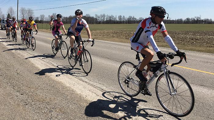 Kawartha Cycling Club - Wednesday Morning Road Ride